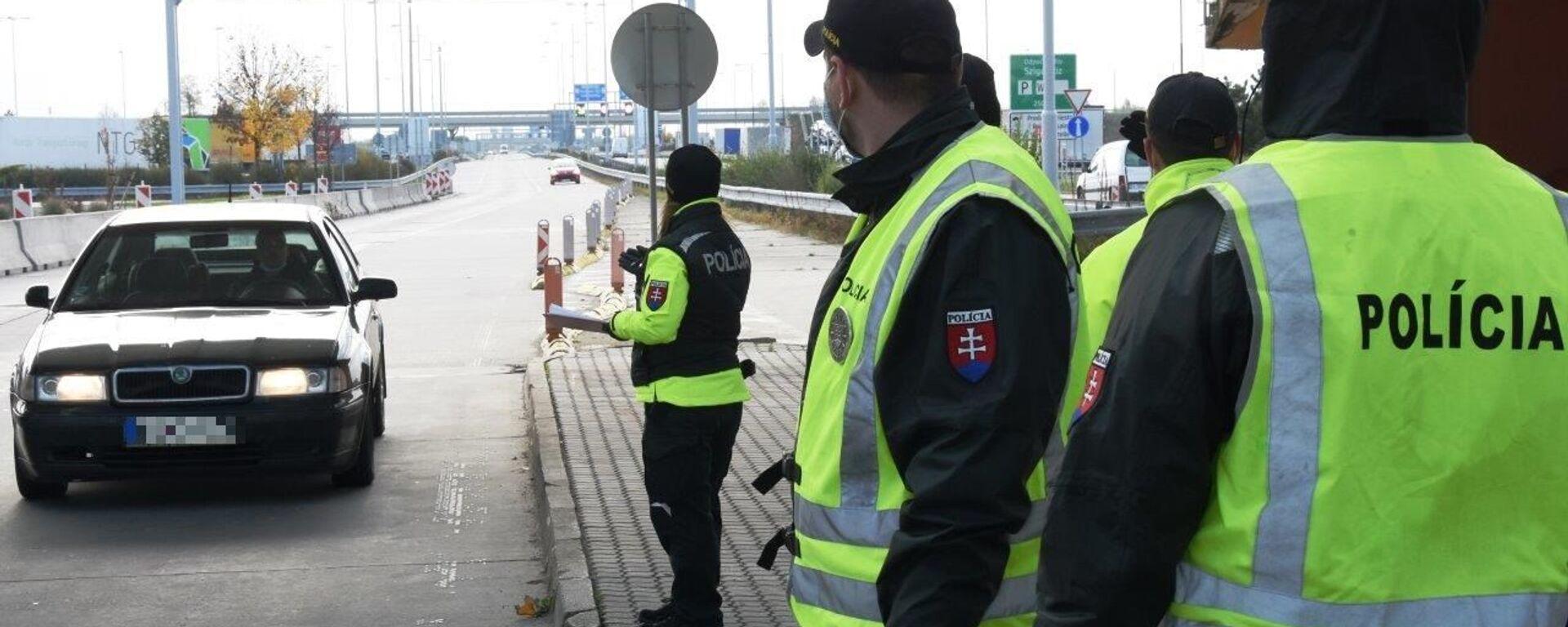 Slovenská policie zavede intenzivní kontroly na hranicích - Sputnik Česká republika, 1920, 04.07.2021