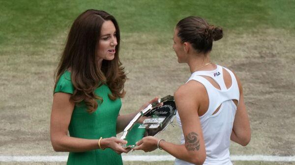 Kate Middleton a Karolína Plíšková - Sputnik Česká republika