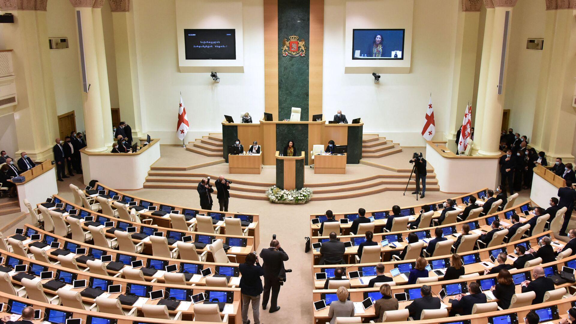 Gruzínský parlament - Sputnik Česká republika, 1920, 12.07.2021