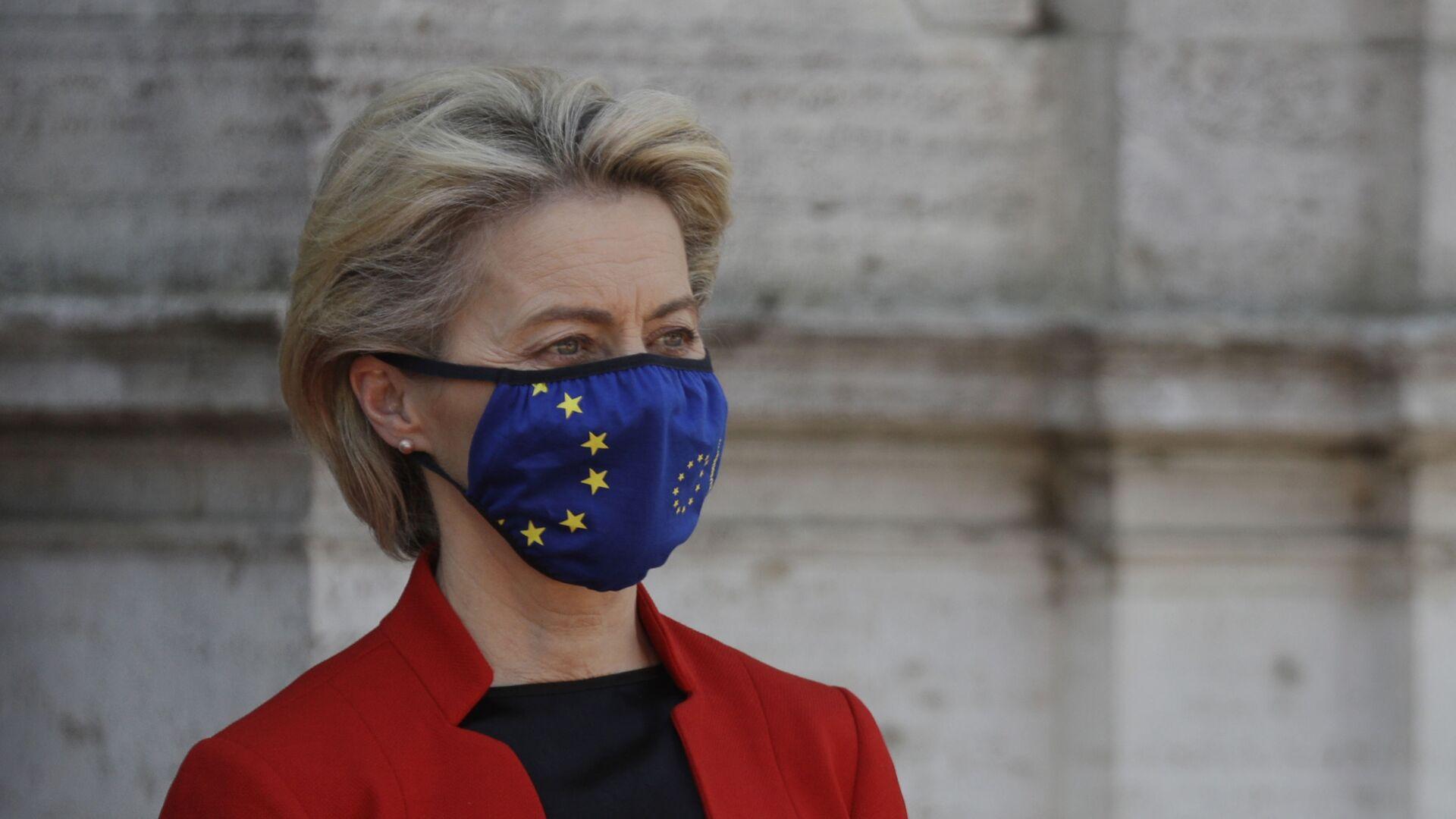 Předsedkyně Evropské komise Ursula von der Leyenová - Sputnik Česká republika, 1920, 06.09.2021