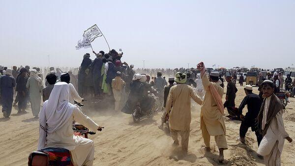 Talibán na hranici mezi Afghánistánem a Pákistánem - Sputnik Česká republika