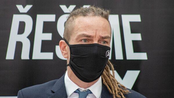Председатель Чешской пиратской партии Иван Бартош  - Sputnik Česká republika