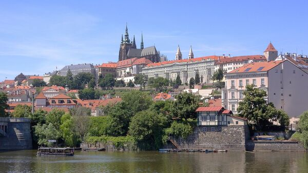 Вид на Пражский Град в Праге, Чехия - Sputnik Česká republika