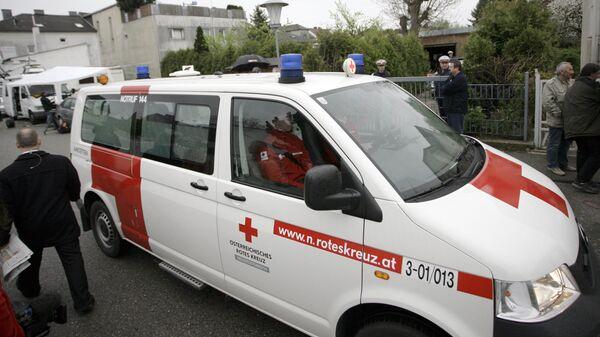 Автомобиль скорой помощи в Австрии - Sputnik Česká republika