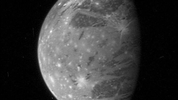 Cпутников Юпитера Ганимед  - Sputnik Česká republika