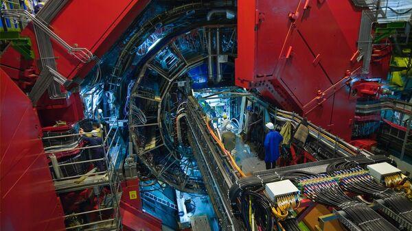 Детектор ALICE на Большом адронном коллайдере в ЦЕРН - Sputnik Česká republika