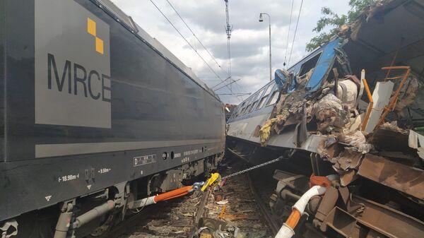 Железнодорожная авария в Чехии - Sputnik Česká republika