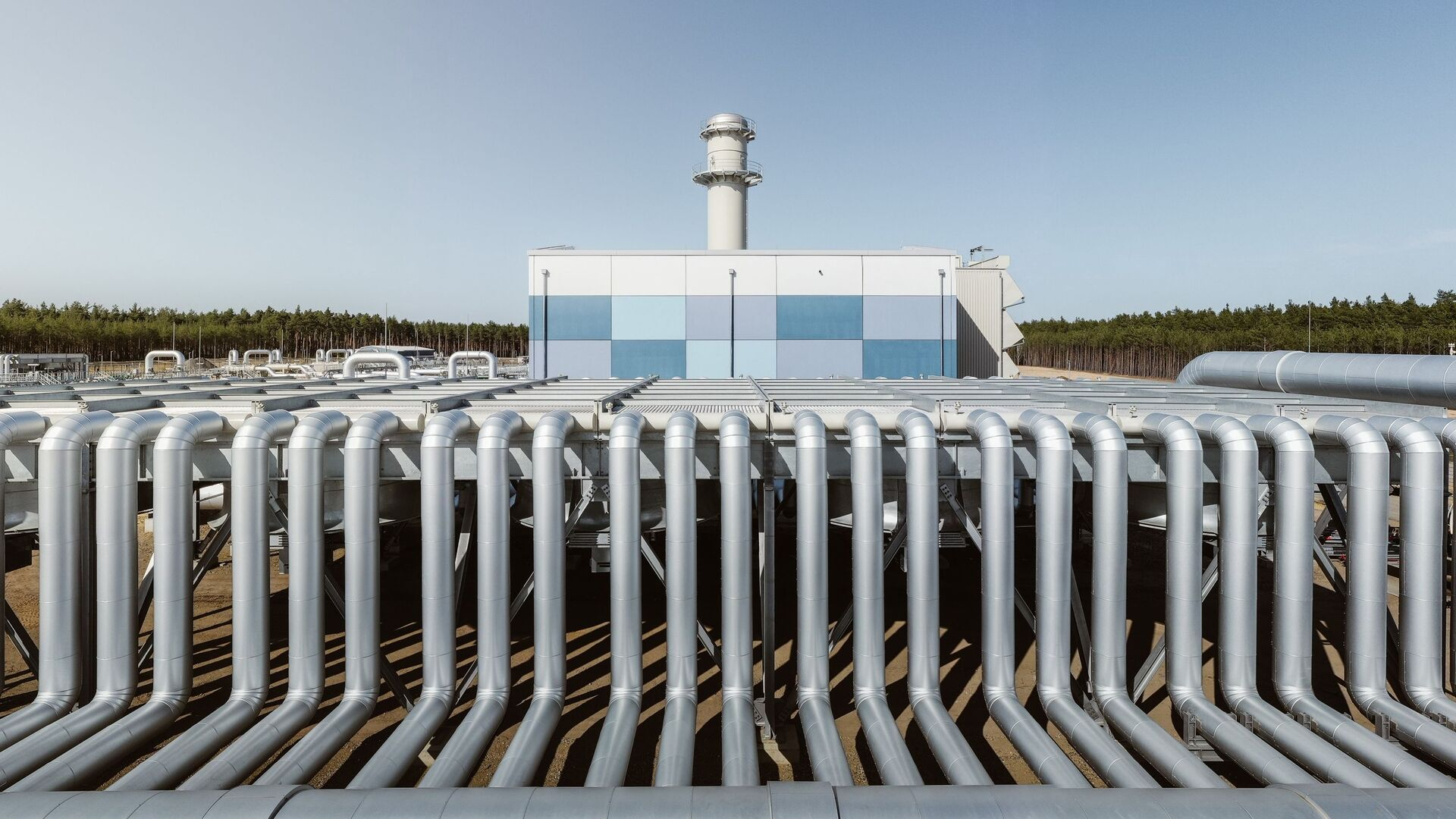 Stavba plynovodu Nord Stream 2 v Německu. Ilustrační foto - Sputnik Česká republika, 1920, 18.09.2021