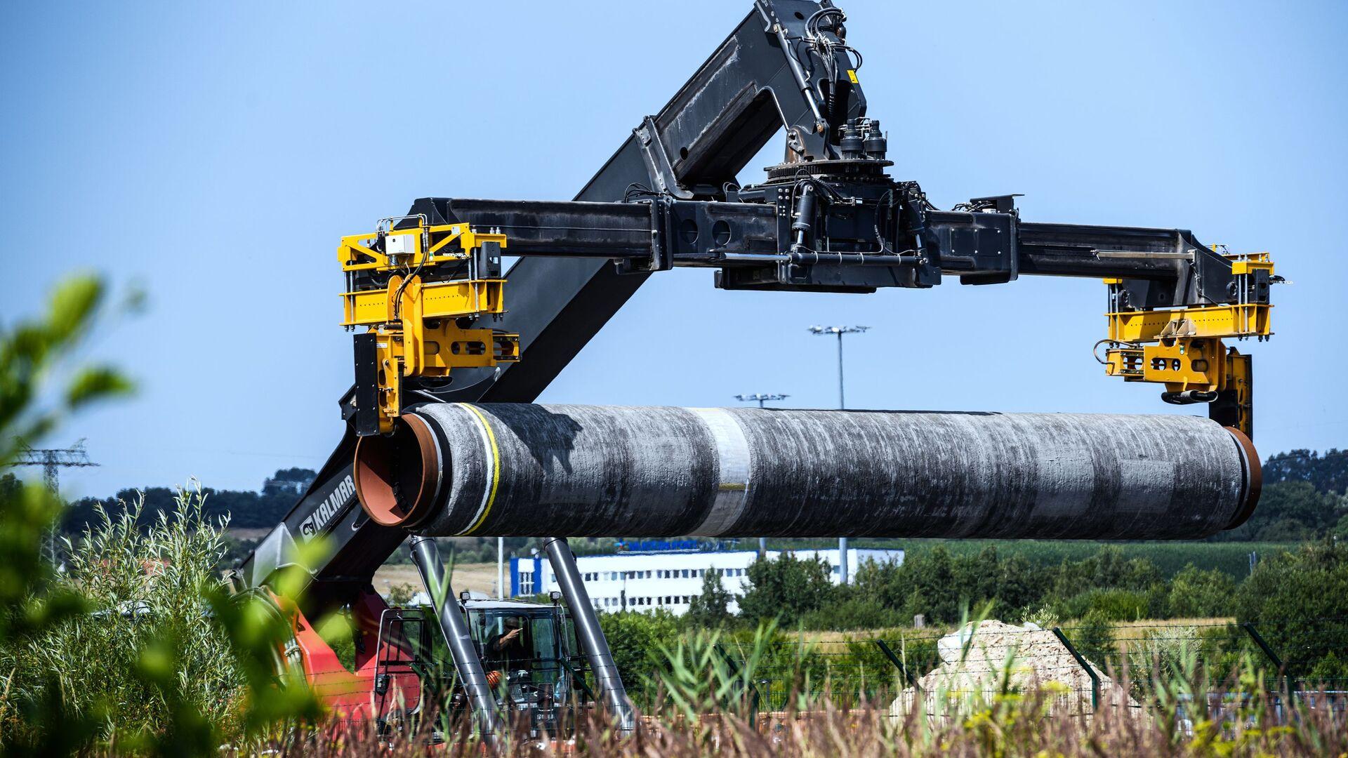 Stavba plynovodu Nord Stream 2 v Německu - Sputnik Česká republika, 1920, 12.09.2021
