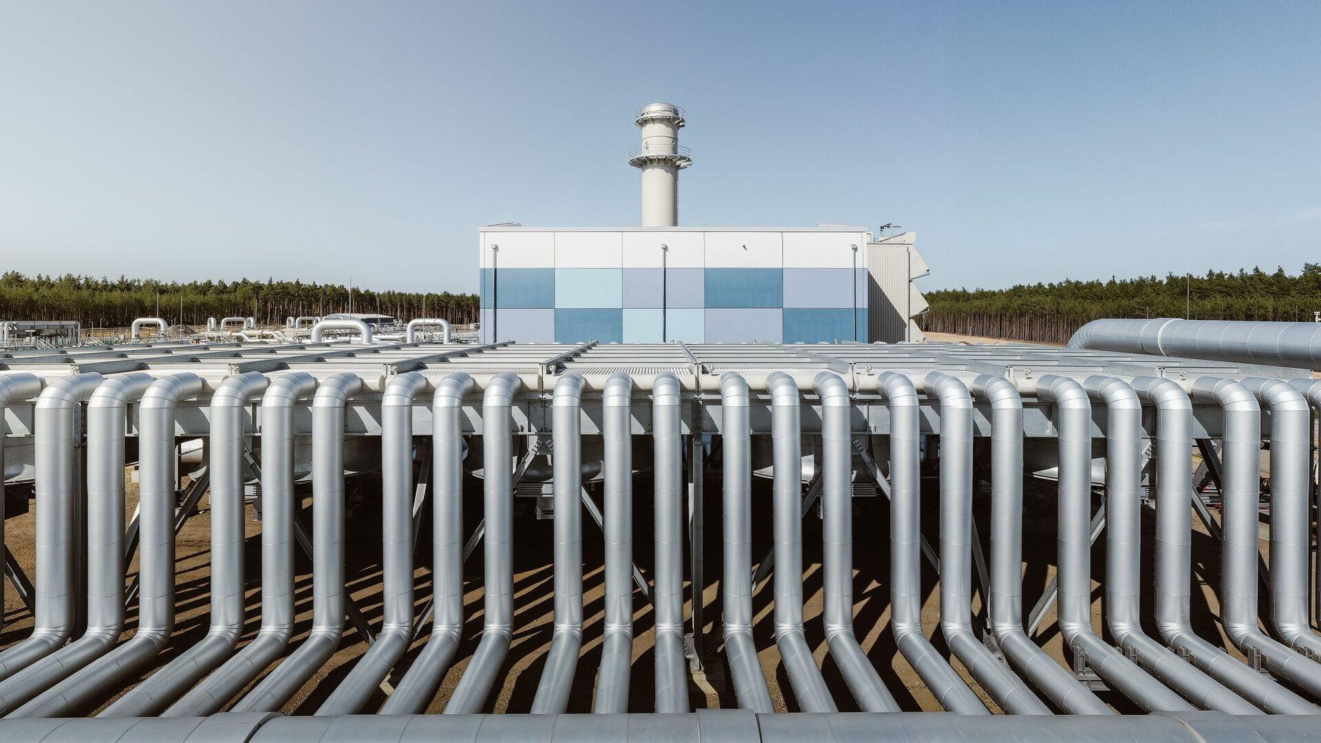 Výstavba plynovodu Nord Stream 2 v Německu - Sputnik Česká republika, 1920, 28.09.2021