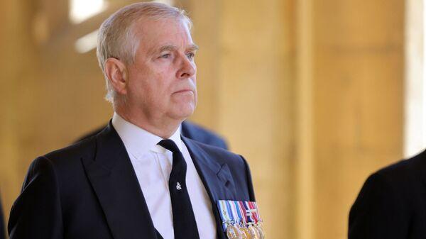 Британский принц Эндрю, герцог Йоркский  - Sputnik Česká republika