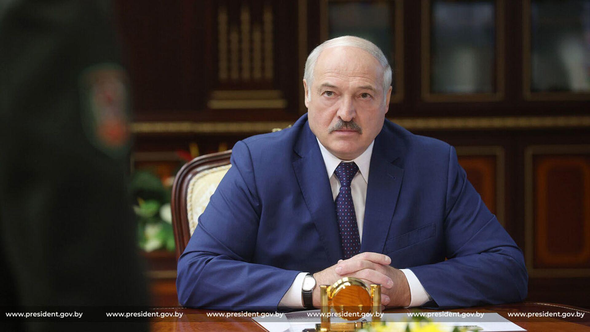 Běloruský prezident Alexandr Lukašenko  - Sputnik Česká republika, 1920, 12.09.2021