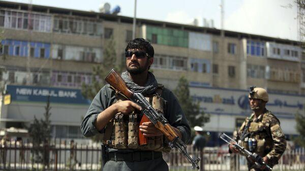 Сотрудники службы безопасности Афганистана в Кабуле - Sputnik Česká republika