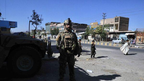 Сотрудники афганских сил безопасности Герате - Sputnik Česká republika