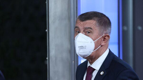 Премьер Чехии Андрей Бабиш - Sputnik Česká republika