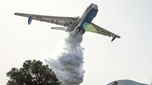 Тушение лесных пожаров в Турции - Sputnik Česká republika