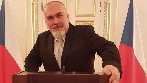 Чешский политический аналитик и журналист Штепан Котрба - Sputnik Česká republika