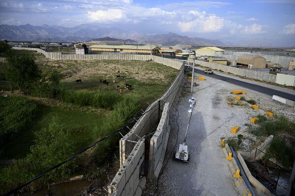 Základna Bagrám v Afghánistánu - Sputnik Česká republika
