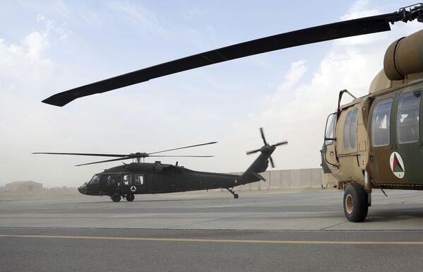 Americký vrtulník UH-60 Black Hawk v Afghánistánu. Archivní fotografie - Sputnik Česká republika