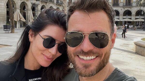Супруги Леош Мареш и Моника Марешова - Sputnik Česká republika