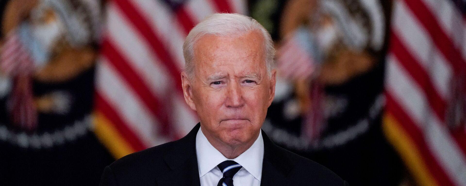 Americký prezident Joe Biden - Sputnik Česká republika, 1920, 19.08.2021