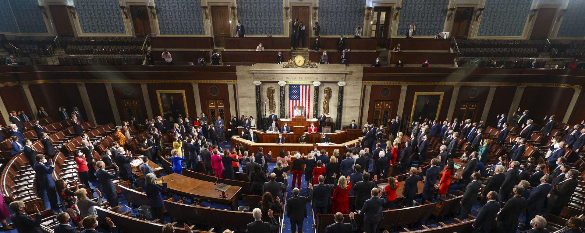 Sněmovna reprezentantů Kongresu USA - Sputnik Česká republika, 1920, 21.08.2021