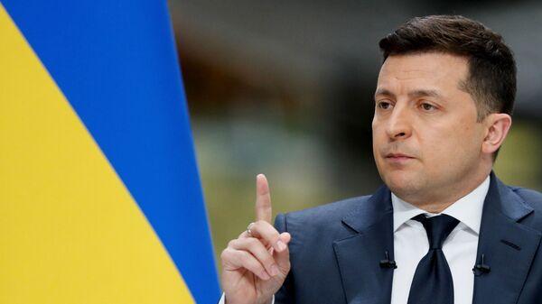 Президент Украины Владимир Зеленский  - Sputnik Česká republika