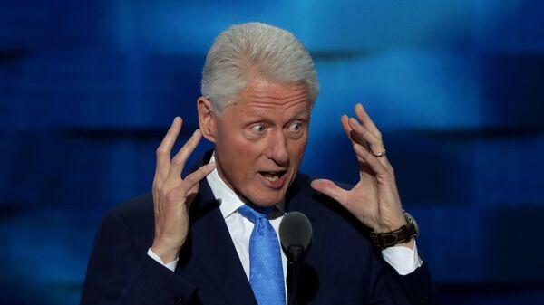 Экс-президент США Билл Клинтон - Sputnik Česká republika