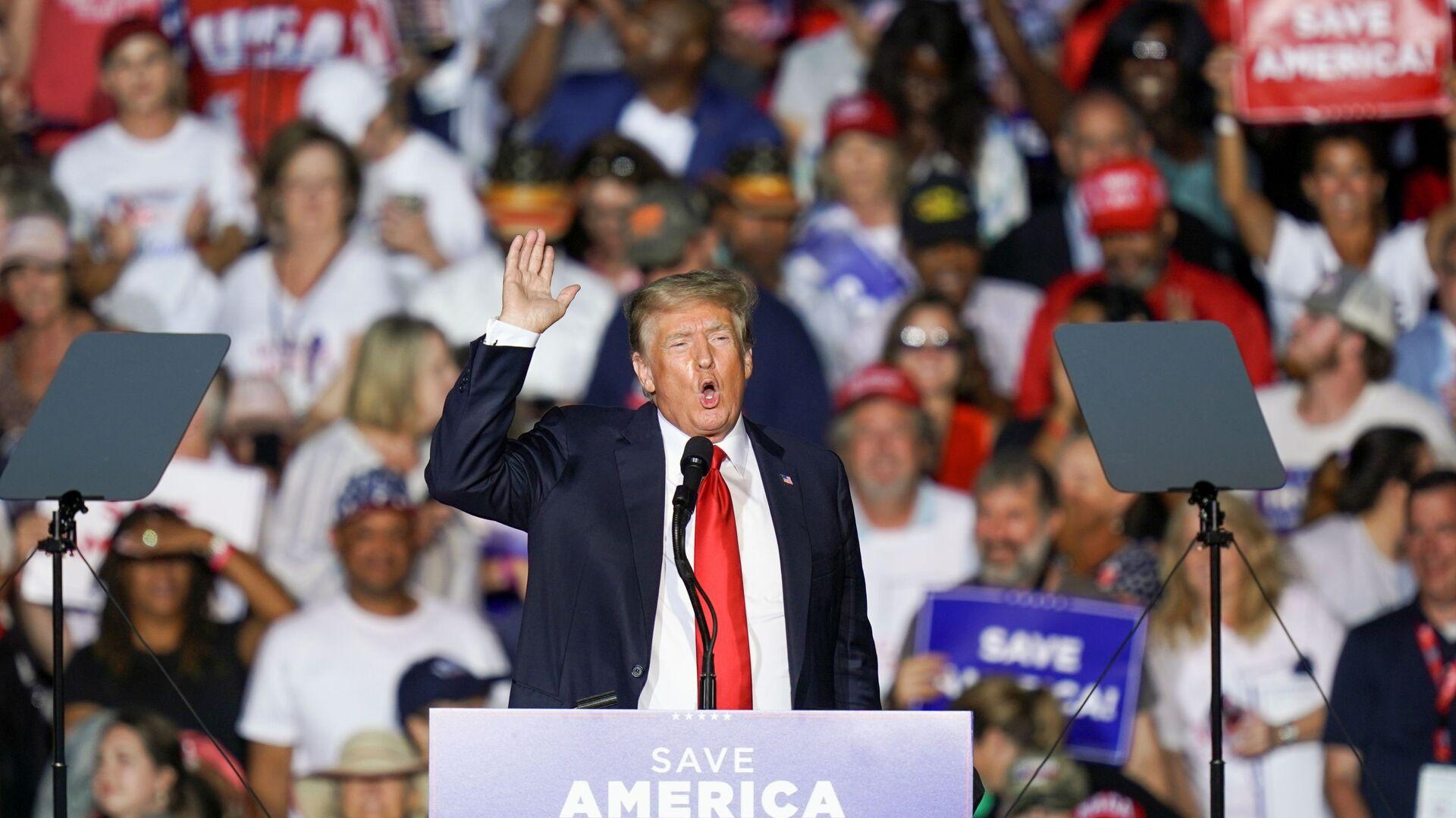 Bývalý prezident USA Donald Trump - Sputnik Česká republika, 1920, 22.08.2021