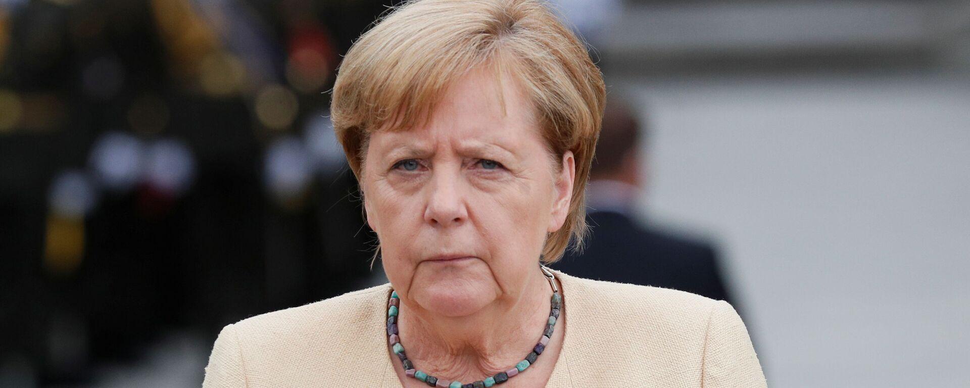 Německá kancléřka Merkelová v Kyjevě - Sputnik Česká republika, 1920, 19.09.2021