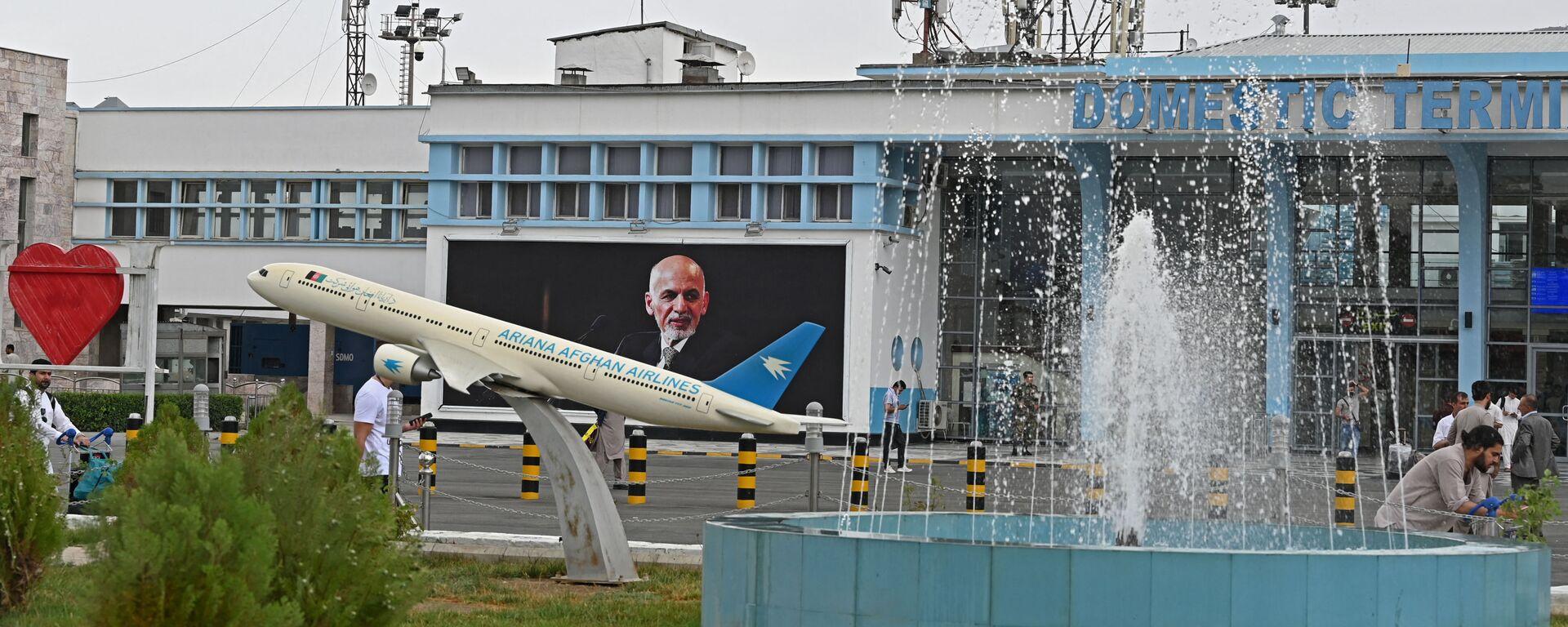 Mezinárodní letiště v Kábulu 16. července 2021 - Sputnik Česká republika, 1920, 23.08.2021
