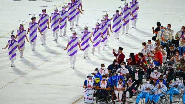 Артисты на церемонии открытия XVI летних Паралимпийских игр - Sputnik Česká republika