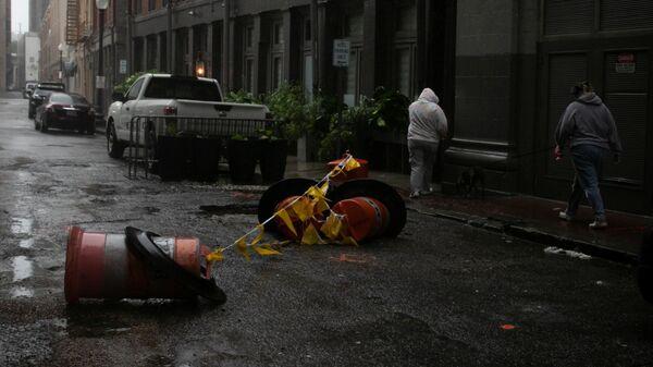 Обрушение урагана Ида на штат Луизиана - Sputnik Česká republika