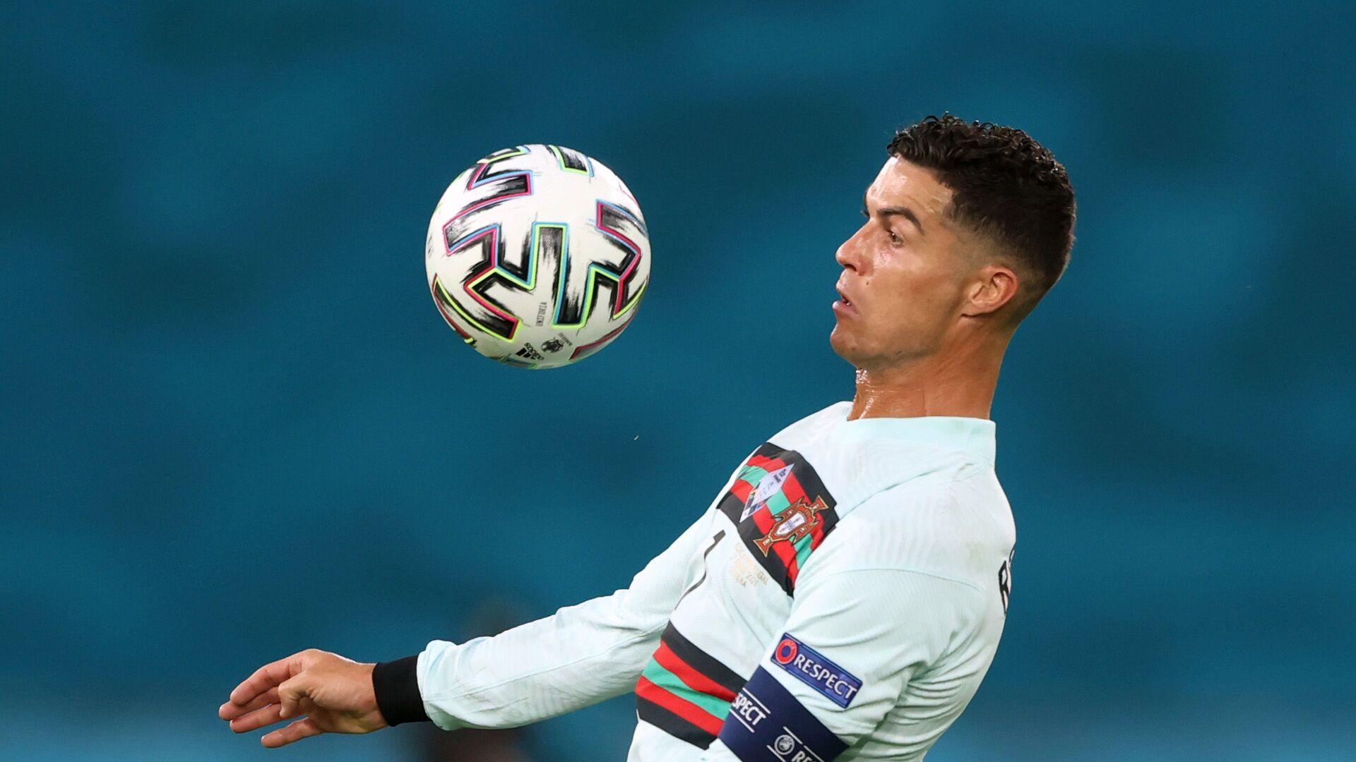 Cristiano Ronaldo na EURO 2020 v zápase proti Belgii - Sputnik Česká republika, 1920, 31.08.2021