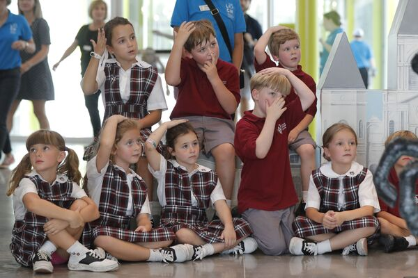 Žáci ve škole New Orleans - Sputnik Česká republika