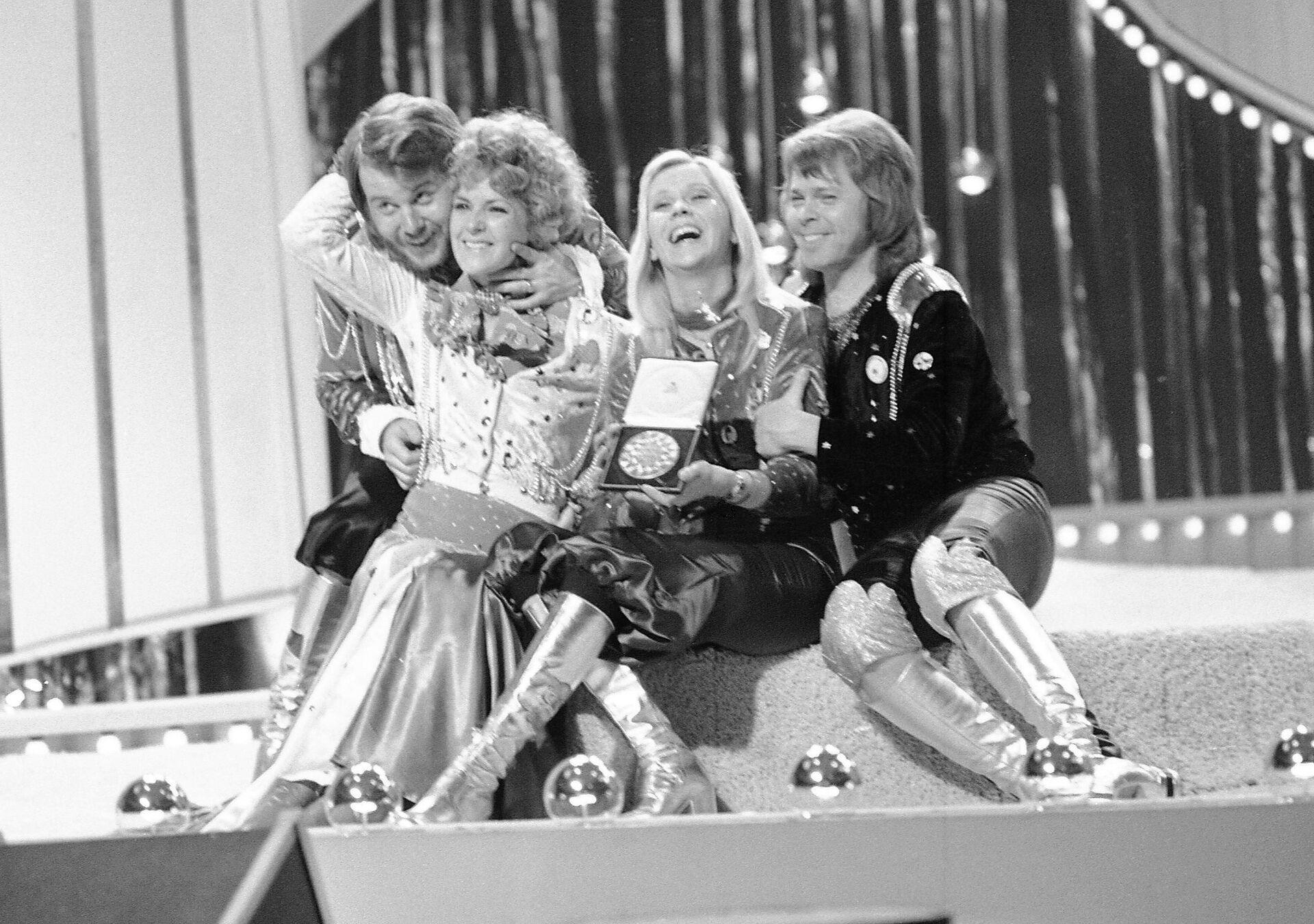 skupina ABBA - Sputnik Česká republika, 1920, 02.09.2021