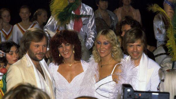 Шведская поп-группа Abba в Стокгольме, 1980 год - Sputnik Česká republika