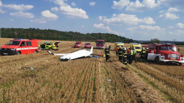 Крушение легкомоторного самолета в Чехии - Sputnik Česká republika