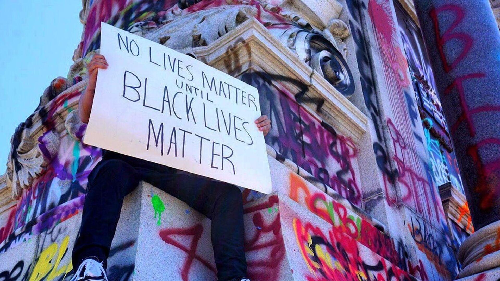 Demonstrace Black Lives Matter v Richmondu - Sputnik Česká republika, 1920, 05.09.2021