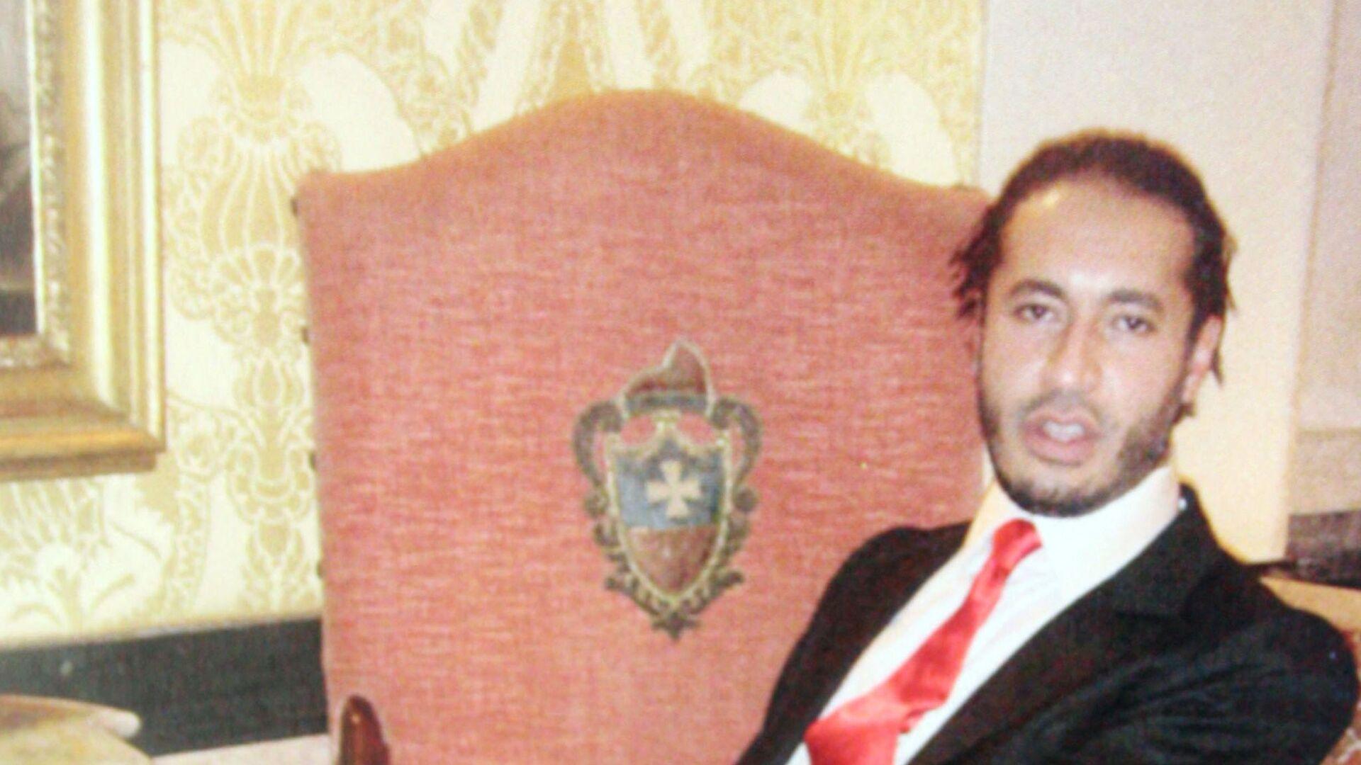 Jeden ze synů bývalého libyjského vůdce Muammara Kaddáfího, Saadí Kaddáfí - Sputnik Česká republika, 1920, 06.09.2021
