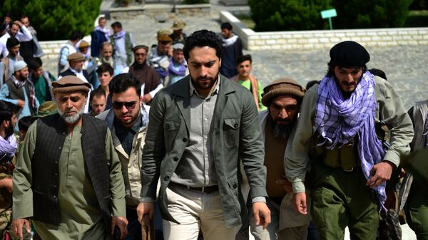 Ахмад Масуд в провинции Панджшер, Афганистан  - Sputnik Česká republika