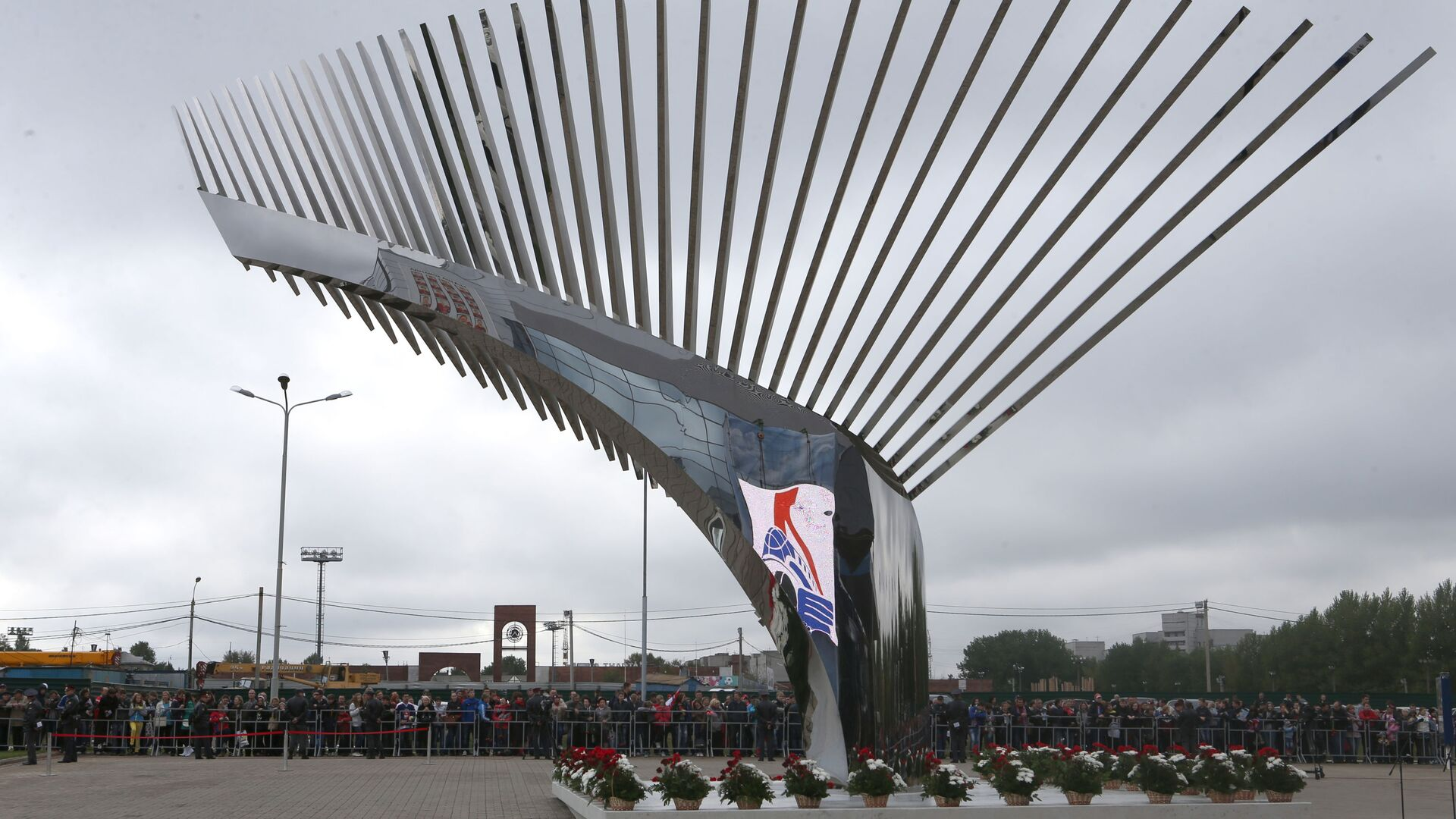 Pomník Hokejové bratrství v Jaroslavli - Sputnik Česká republika, 1920, 07.09.2021