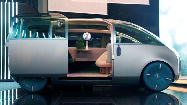 Концепт-кар MINI Vision Urbanaut на Международном Мюнхенском автосалоне - Sputnik Česká republika
