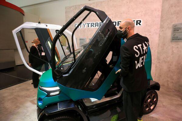 Elektromobil City Transformer - Sputnik Česká republika