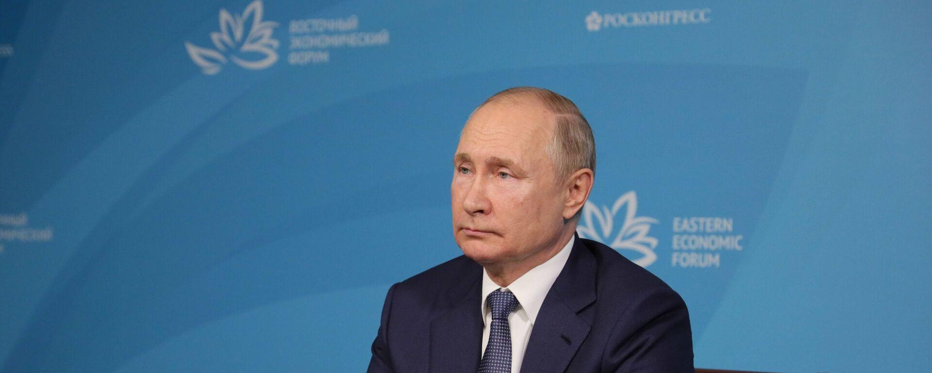 Ruský prezident Vladimir Putin - Sputnik Česká republika, 1920, 10.09.2021