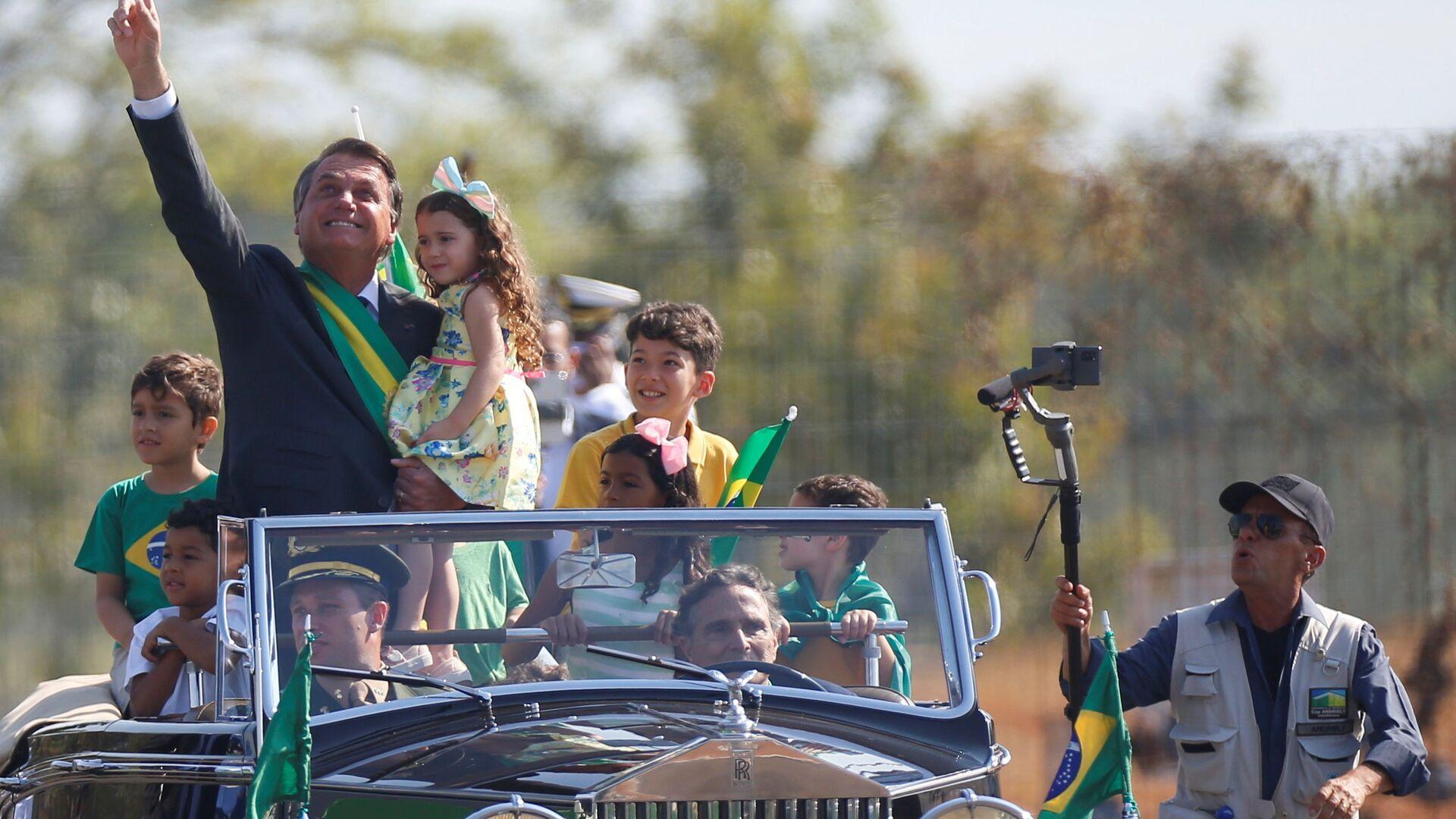 Prezident Brazílie Jair Bolsonaru - Sputnik Česká republika, 1920, 21.09.2021