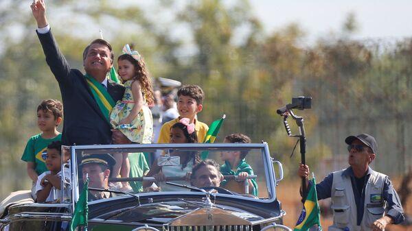 Prezident Brazílie Jair Bolsonaru - Sputnik Česká republika