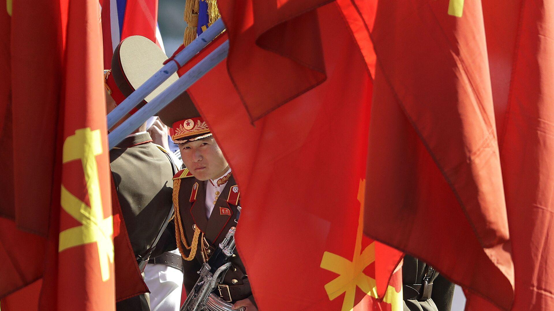 Severokorejský voják. Ilustrační foto - Sputnik Česká republika, 1920, 13.09.2021