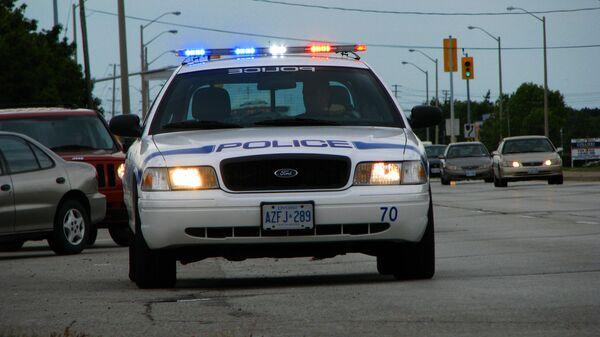 Полицейская машина в канадском городе Миссисауга - Sputnik Česká republika