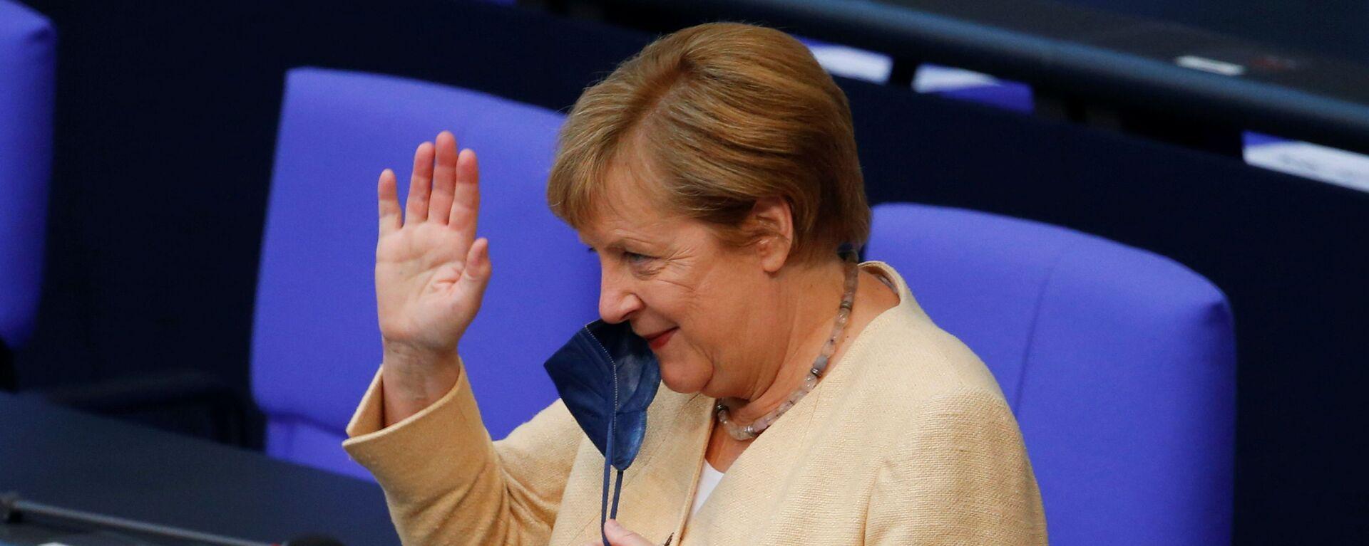 Angela Merkelová - Sputnik Česká republika, 1920, 14.09.2021